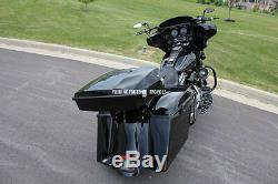 Razor Tour Pack Tourpack Metal Base Hinge Latch Kit 3M Seal For Harley Touring