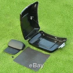 Razor Tour Pak Pack Trunk with Backrest For Harley Electra Glide Road King 14-19