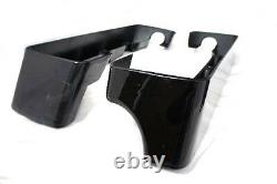Right side Cut Out 2 into 1 CVO Harley Touring Hard Saddlebag Extensions 94-13