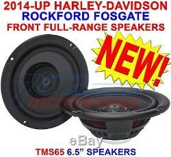 Rockford Fosgate Tms65 For Harley-davidson 6.5 Full-range Front / Tour-pak 2014+