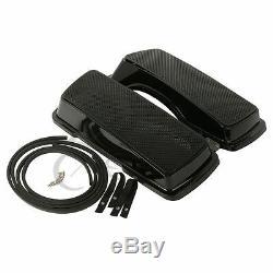 Saddlebag Dual 6x9 Speaker Lids Fit For 93-13 Harley Davidson Touring FLHR 93-13