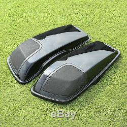 Saddlebag Lid Speaker Cutouts with Grill For Harley Davidson Touring 2014-2020 19