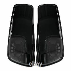 Saddlebag Lids Speaker Cutouts Fit For Harley Touring Electra Street Glide 14-21
