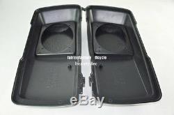 Saddlebag Single 6x9 Speaker Lids For 93-13 HD Harley Davidson Touring Bagger