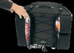 Saddlemen BR4100 Sissy Bar Backrest Motorcycle Touring Bag Harley Davidson Honda