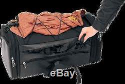 Saddlemen Black Rear Textile Deluxe Tour Pak Roll Bag Harley Davidson Touring