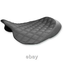 Saddlemen GelCore Renegade Lattice Stitch Solo Seat for Harley Touring 08-20