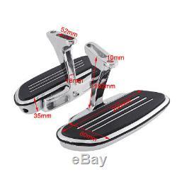 Streamline Passenger Foot Floor board Fit For Harley Touring Road Glide 1993-Up