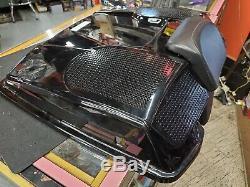 Tour Pak Speaker Lid Black 1980-13 Harley FLH Touring Ultra Classic Bagger Glide