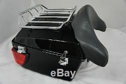 Tour pak pack Road King Electra glide w Lights with lining for Harley Touring FLH