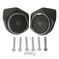 Trunk Speaker Saddlebags CVO Rear Fender Seat For Harley Tour Pak Touring 14-Up