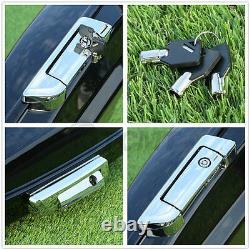 Vivid Black 5.5 Razor Pack Trunk Latch Fit For Harley Tour Pak Touring 14-21