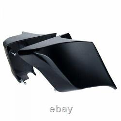 Vivid Black Stretched Extended Side Cover Panel fit 2014+ Harley Touring Glide